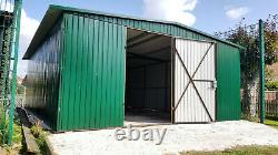 Big Storage 17x22ft Garage Tough Motorcycle Shed Secure Steel Garden Workshop