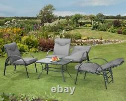 Candosa Padded Garden Furniture, Dining, Lounge & Sunloungers High Quality