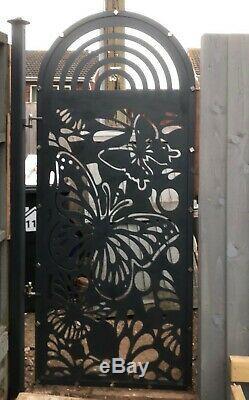 Custom or stock designer gates made to order add unique design to your garden