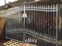 Driveway Gates Garden Gate, Metal Gate, Wrought Iron Metal Gate 105