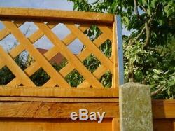 Fence Height Extension Arms for Trellis Panels Garden One Pair 500m Long Postfix