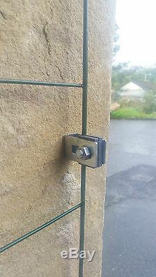 FlexiPanel Foldable Dog Barrier Fencing Gate Run Pen Fence Garden-1 Metre High