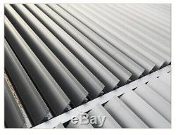 Galaxy Style Roof Pergola SunshadeHot Canopy, Permanent Garden Awning Gazebo