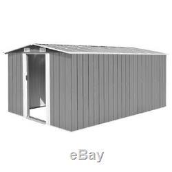 Garden Shed Tool Storage Metal Outdoor Patio Decor Storage Garage House Cabin