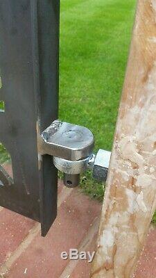 Garden gate metal. Custom made to order. Laser Cut. Made in UK. Steel