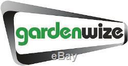 Gardenwize Garden Outdoors Wall Mountable Metal Vintage Bird Cage Clock Black