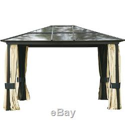 Gazebo Patio Canopy Party Tent Top Cover Outdoor Garden Pavilion Shelter Event
