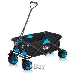 Hand Wagon Hand Cart Foldable Offroad Beach Coaster Trolley Garden New SAMAX