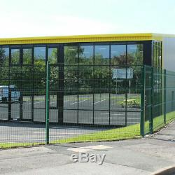 Heavy Duty Coated V Mesh Fence Panel And Posts Wire Garden Fencing Commercial