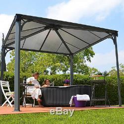 Hot Tub Gazebo Spa Awning Garden Canopy Outdoor Sun Shade Shelter Roof Pergola