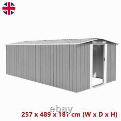 Large Steel Garden Shed Bike Unit Storage Workshop Building Garage Container UK