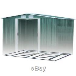 Metal 6 X 4, 8 X 4, 8 X 6, 10 X 8 Steel Sheds Outdoor Garden Storage Garden Shed