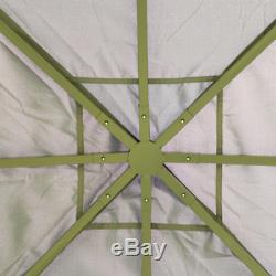 Metal Garden Gazebo Outdoor Patio Structure Awning Tent Canopy Marquee Sun Shade