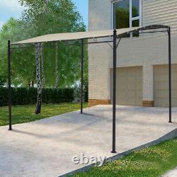 Metal Gazebo Garden Canopy Sun Shade Patio Pergola Porch Shelter Pavilion Awning