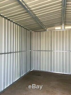 Mighty Metal Garden Shed Outdoor Storage House Tool Sheds with Free Foundation