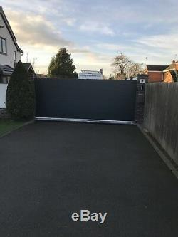 Modern Metal Drive Gates panels Wooden Gates, Sheds, garden 40mm insulated