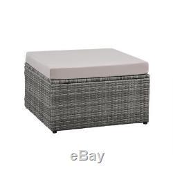 New 5 Piece Corner Sofa Set K/D Furniture Conservatory Outdoor Garden Home Patio