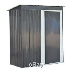 Outdoor Shed Storage 5ft x 3ft Metal Garden Mower Bike Box Container Tools Sheds