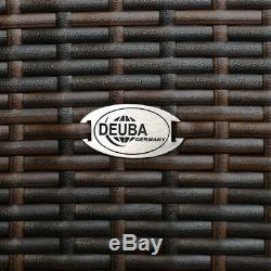 Poly Rattan Conservatory Dining Furniture Table Chairs Outdoor Garden Wicker NEW