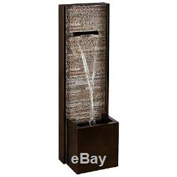 Serenity Free Standing Cascading Wall Water Feature 1m Garden Fountain Ornament