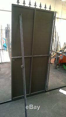 Sheeted Gate, Metal Gate, Security Gate, BackYard Gate, Metal Door, Garden Gate