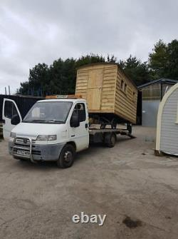 Shepherds hut, garden room, rent out bedroom, steel chassis, movable. 07940912751