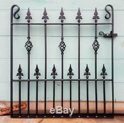 Single Garden Gates Wrought Iron Metal Steel Gate 3ft 3 (991mm)Opening