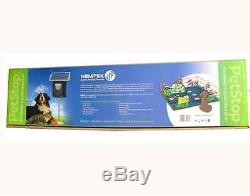 Solar Electric Fence Kit Garden Fence Waterproof Dog Electric Fence Chew Toy