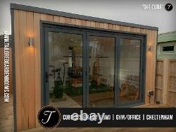 Steel Framed Luxury Insulated Garden Room / Office / Studio / Gym