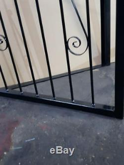 Steel Security Door, Gate. Metal Garden Gate / Wrought Iron Gate (powder Coated)