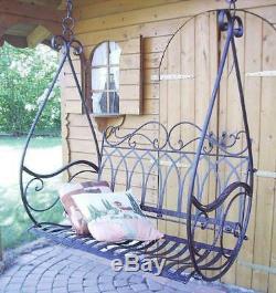 Swing Hanging Bench Porch Gondola Armchair from Metal Avis 1868 Garden