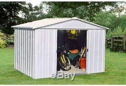 Yardmaster Metal Garden Shed 10 x 10ft