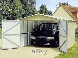 Yardmaster Metal Maintenance Free Garden Garage Shed 3 x 5m