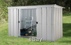 Yardmaster Pent Metal Garden Storage Unit 6 x 4ft