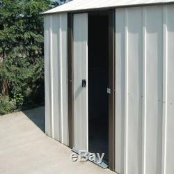 12ft X17ft Metal Vinyl Garage Murrayhill Apex Jardin Voiture En Acier 12x17 Stockage