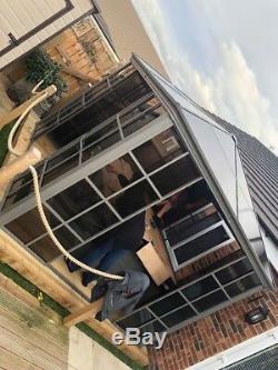 3.6 Gazebo Strong, Gazebo Solide Sided, Salon De Jardin, Bain À Remous Couverture Canopy Gazebo