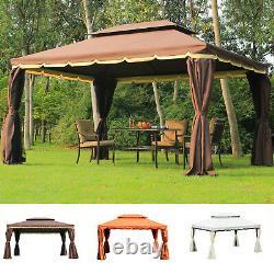 3 X 4 M Aluminium Gazebo Marquee Canopy Pavilion Patio Garden Party Tent 3 Couleur