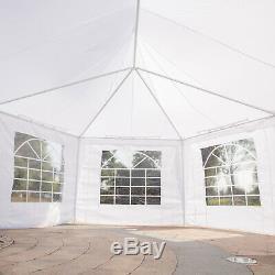 6.8x5m Octogonal Tente Gazebo Heavy Duty Mariage Chapiteau De Jardin Tente Pagode