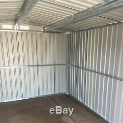 6 X 4, X 6 8, 10 X 8 Garden Shed Utilitaire De Rangement En Métal Remise Extérieure Garage Outils