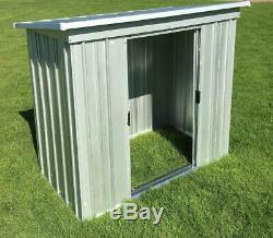 898 Yardmaster Metal Garden Store Taille Extérieure Maximale 6'6w X 3'11d X 4'4h