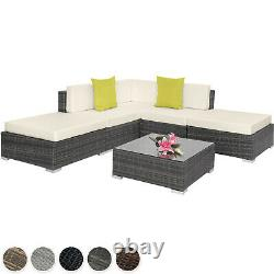 Aluminium Luxury Rattan Garden Patio Furniture Sofa Lounge Table Set Wicker Nouveau