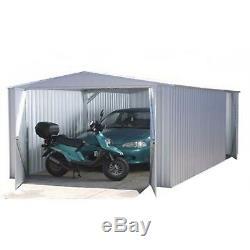 Atelier Utilitaire De Jardin, Grande Unité De Rangement De Garage, Hangar En Métal, 6 MX 3 M