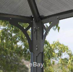 Bain À Remous Gazebo Spa Ombrage Canopy Extérieur Pare-soleil Abri Toit Pergola