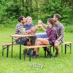 Bière Table Portier Bière Tente De Jardin Banc De La Bière De La Bière De Table En Bois Pliable