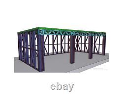 Cadre En Métal De Bâtiment De Jardin 8m X 4m Atelier De Hangar Grande Salle D'acier De Maison D'été