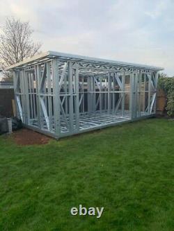 Cadres En Acier Pour Chambres De Jardin Pour Constructeurs De Bricolage