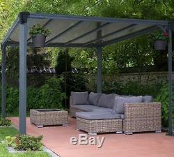 Couverture De Barbecue Pour Jardin De Jardin Pour Jambes Palram Milano Extérieur Gazebo En Aluminium Neuf