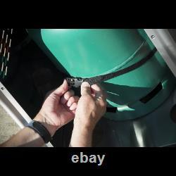 Dellonda Autoportant Gaz Pyramide Patio Chauffe-glace Extérieur Garden Tube En Verre 13kw