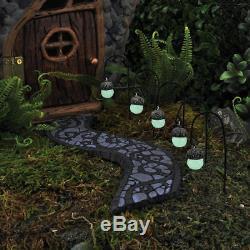 Ensemble De 5 Lumières Luisantes Dans Des Lumières De Glands Sombres 5 Go 17417 Fairy Garden