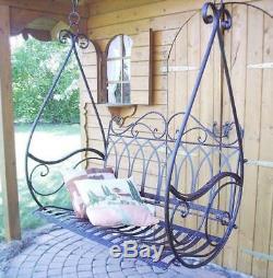 Fauteuil Suspendu À Balancelle Et Balancelle Pivotante En Métal Avis 1868 Garden